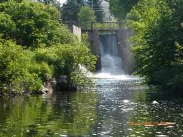 Chute Barrage juin 2008