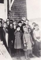 Les élèves de l'école du Lac Rouge